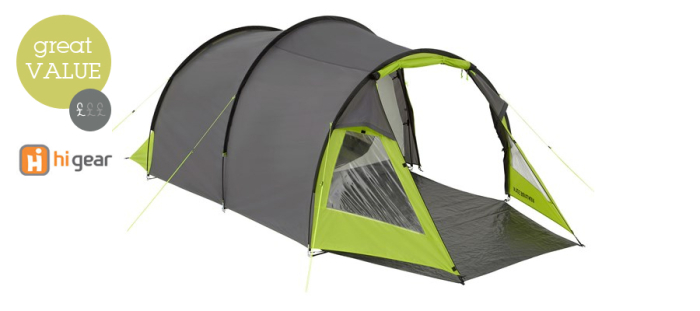 Hi Gear Venture 3 DLX Tent
