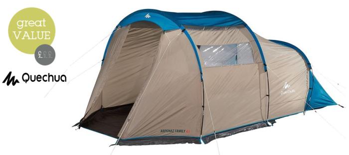 Arpenaz 4.1 family tent