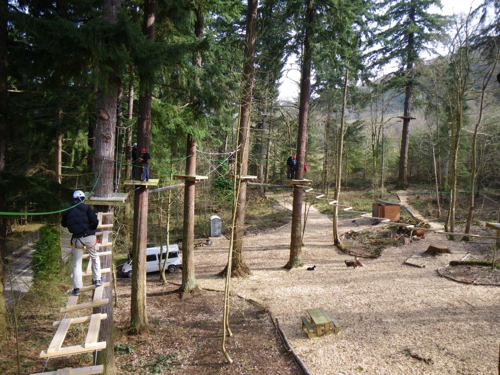 high ropes corwen