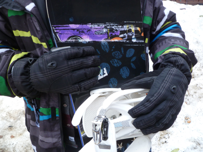 Altitude Extreme Mens Ski Gloves