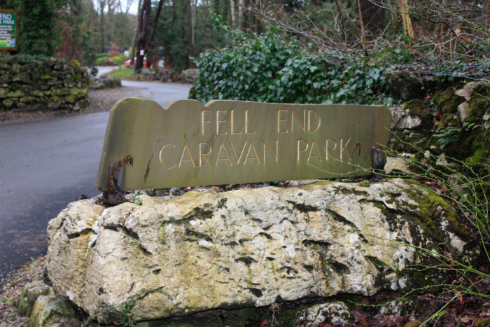 Fell End Holiday Park Entrance
