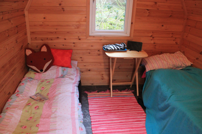 Both beds set up